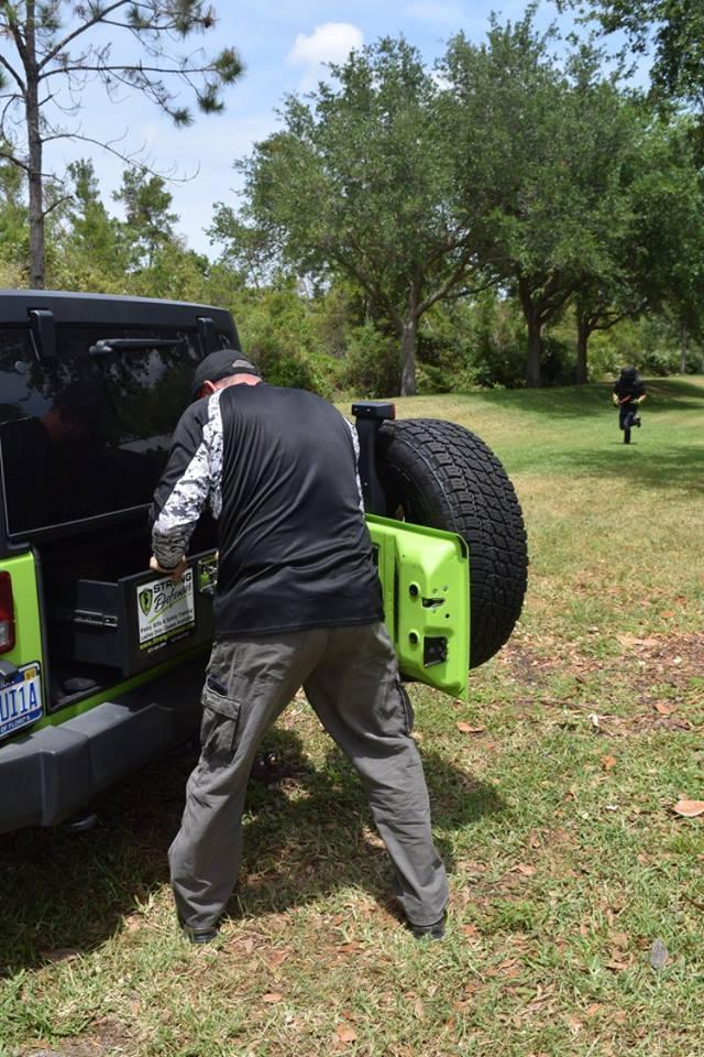 AAA Vehicle Counter Ambush Titusville April 15 2017 Machete
